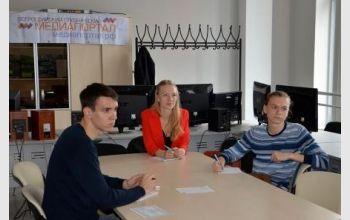 В СПбГУТ прошла встреча студенческой редакции