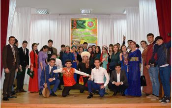 Студенты факультета международного образования МГТУ отметили День Туркменистана