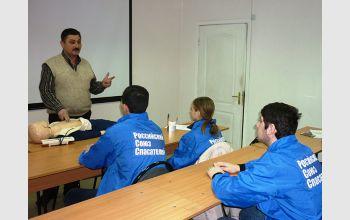 Студенты спасательного отряда МГТУ «Фишт» повысили квалификацию