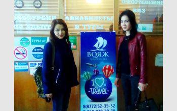 Студенты МГТУ побывали на экскурсии в туристском агентстве «Вояж»