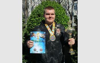 Студент МГТУ завоевал Кубок мира по пауэрлифтингу и силовым видам спорта