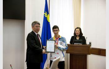 И.о. главы Республики Бурятия встретился со студентом СибГУТИ