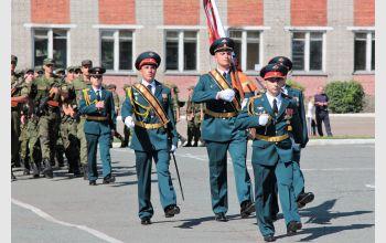 Курсанты военной кафедры СибГУТИ приняли воинскую присягу