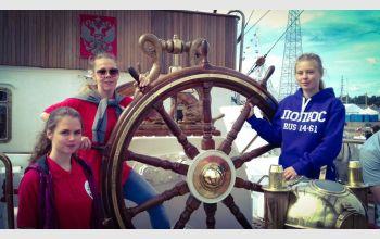 Курсанты ГУМРФ имени адмирала С.О. Макарова участвуют в Международной парусной регате 2017 на борту четырёх парусных судов