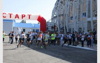 Студенты МГТУ приняли участие во Всероссийском дне бега