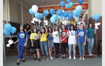 В МГТУ прошла акция «Голубь мира»