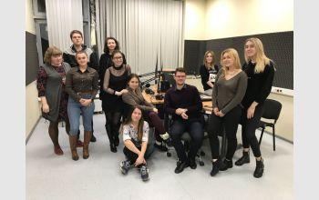 Очередная программа обмена опытом по направлению радио в рамках Всероссийского студенческого медиапортала