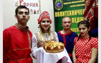 Студенты МГТУ приняли участие в фестивале народного творчества