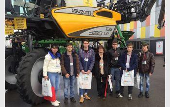 Студенты МГТУ  на международной выставке 'ЮГАГРО'