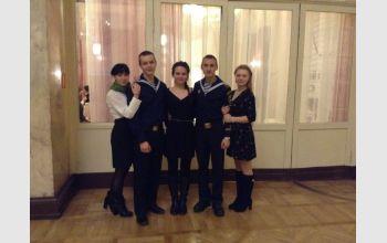«Halpern and Jonson» - курсанты ГУМРФ имени адмирала С.О. Макарова в «Нашем театре»