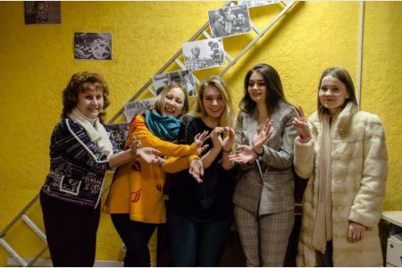 Студенты СПбГУТ на тренинге по журналистике