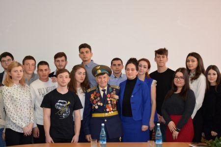 Встреча с ветераном в преддверии Дня защитника Отечества