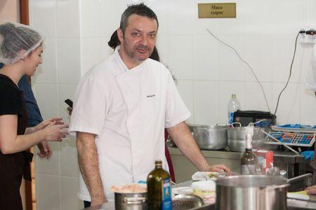 Шеф-повар из Италии провёл серию кулинарных мастер-классов в МГТУ