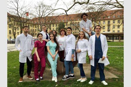 Студенты Медицинского института МГТУ прошли стажировку клинике Фрайбургского университета