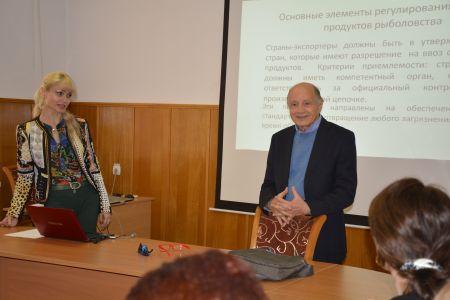 Студентам МГТУ прочитал лекции профессор из Милана