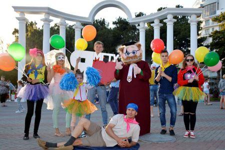 Студенты МГТУ открыли курортный сезон в Геленджике