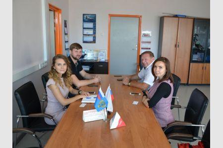 Рабочая встреча с директором бизнес-инкубатора «Ингрия»