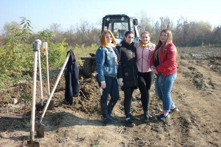 Студенты МГТУ приняли участие в лесовосстановительных мероприятиях Адыгейской лесопожарной охраны