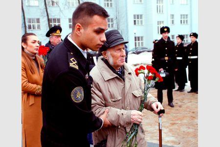 Урок мужества «Испытаны войной и морем» в Колледже ГУМРФ имени адмирала С.О. Макарова