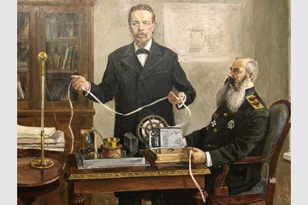 С.О. Макаров и А.С. Попов: объединенные великим открытием