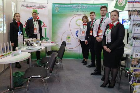 МГТУ принял участие в Московском международном салоне образования